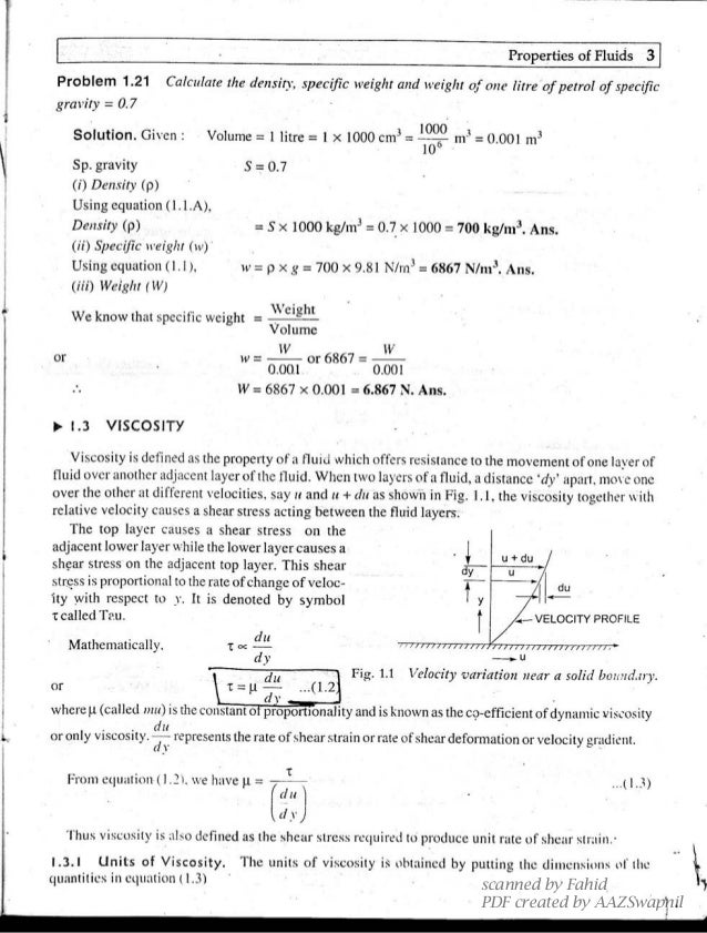 fluid mechanics and hydraulic machines by rk bansal pdf download