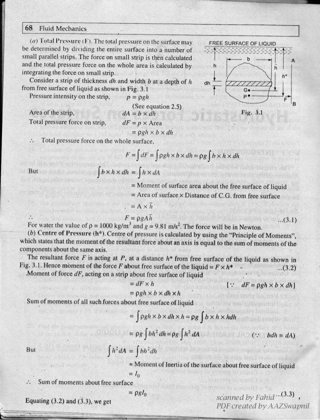 Fluid Mechanics And Hydraulic Machines by R.K Bansal