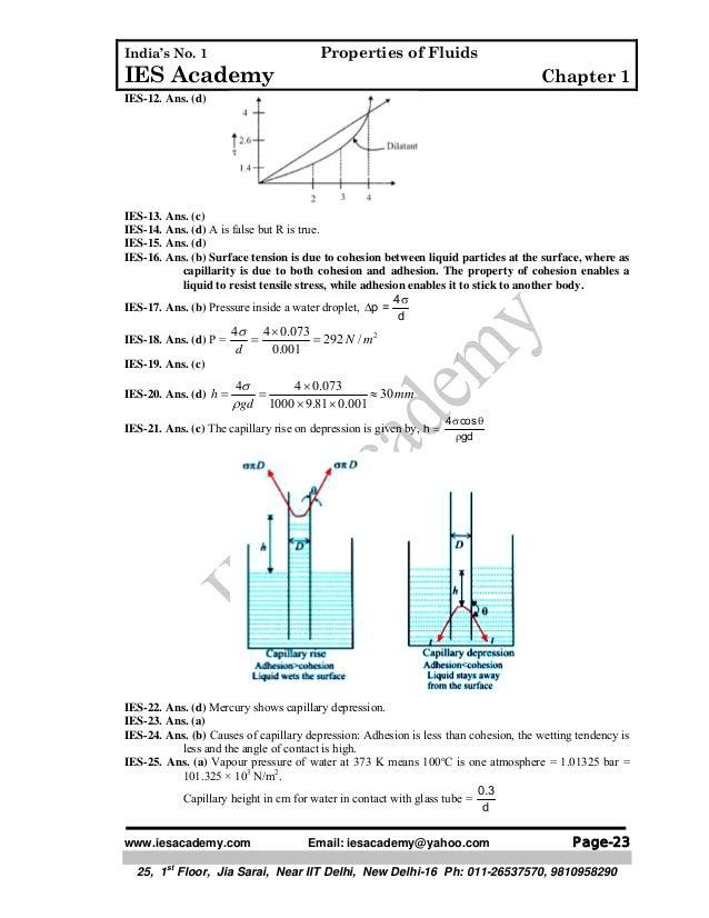 Fluid mechanics ch 1