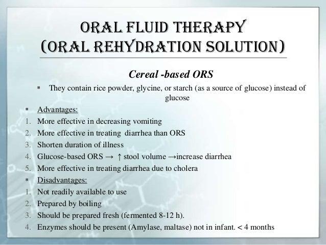Fluid therapy in paediatrics