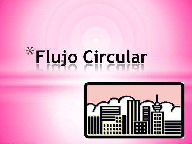 *Flujo Circular