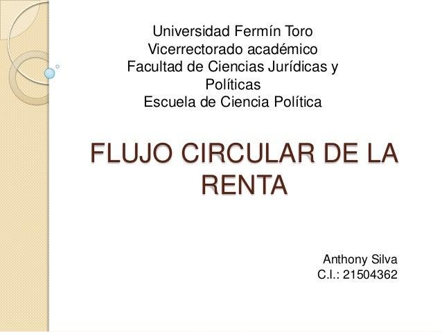 Universidad Fermín Toro Vicerrectorado académico Facultad de Ciencias Jurídicas y Políticas Escuela de Ciencia Política  F...