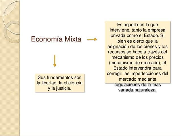 Economía Planificada  Es una economía centralizada, el Estado resuelve todo lo relativo al proceso económico, se logran es...