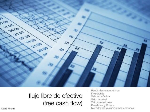 Lionel Pineda flujo libre de efectivo (free cash flow) Rendimiento económico  Inversiones  Vida económica  Valor terminal  V...