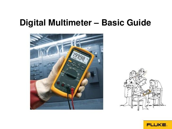 Digital Multimeter – Basic Guide
