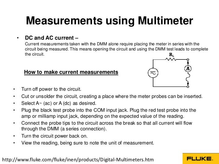 Digital Multimeters Basic Guide