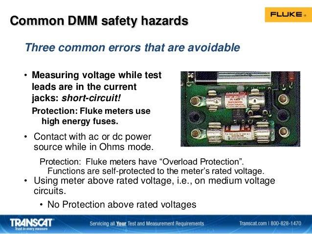 Fluke Electrical Safety Seminar Slides
