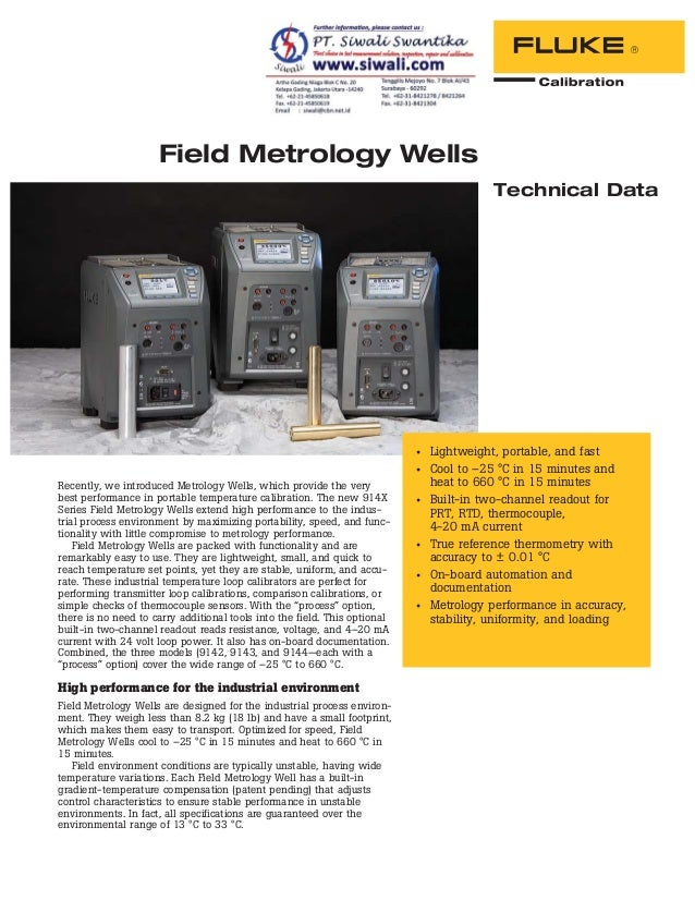 Recently, we introduced Metrology Wells, which provide the very best performance in portable temperature calibration. The ...