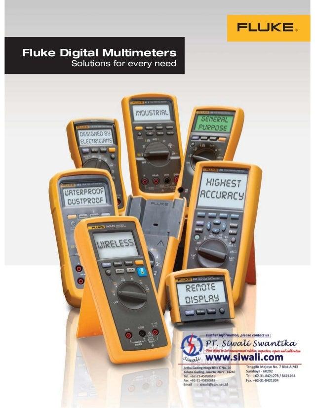 Fluke Digital Multimeters Solutions for every need