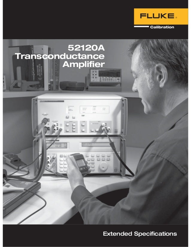 52120A Transconductance Amplifier Extended Specifications