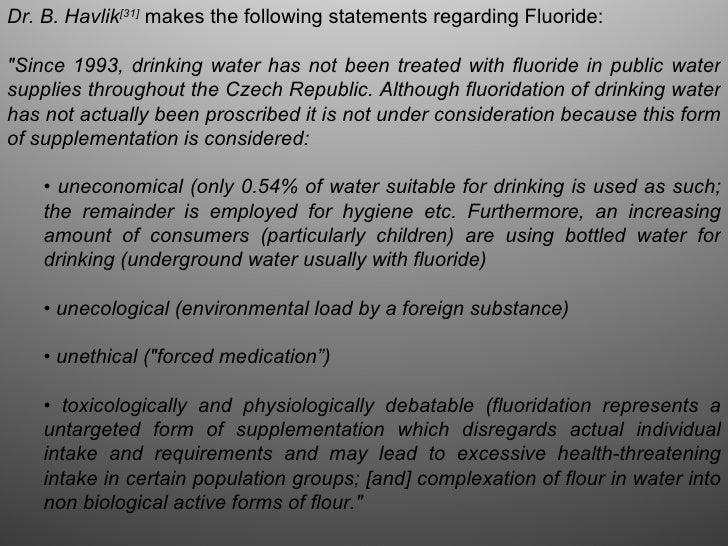 Fluoridation, the scientific fraud of a century Slide 3