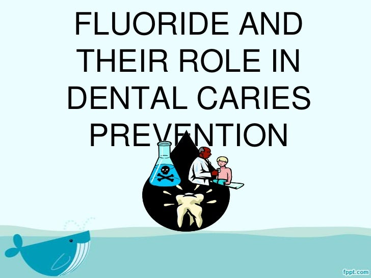FLUORIDE ANDTHEIR ROLE INDENTAL CARIES PREVENTION