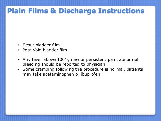 lumbar puncture discharge instructions