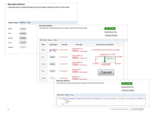 ‹#›  l'UX sans documentation