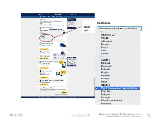 18/11/14  akiani@akiani.fr Ce document est la propriété d'Akiani et il ne peut être  reproduit ou communiqué sans autorisa...