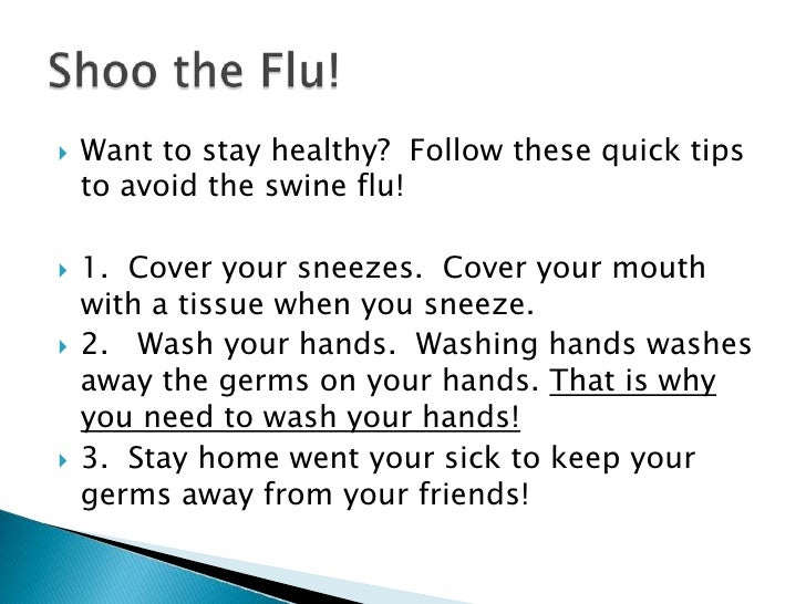 how to help your body fight off flu