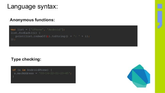 Introduction to Flutter - truly crossplatform, amazingly fast