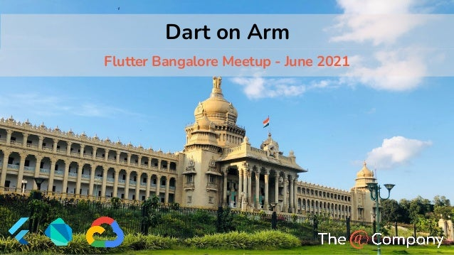 © 2021 - The @ Company | atsign.dev Dart on Arm Flutter Bangalore Meetup - June 2021
