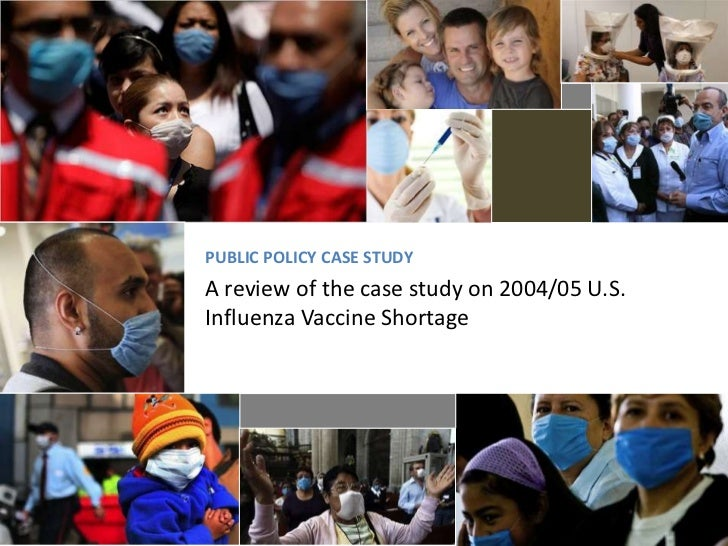 influenza case study The 2009 flu pandemic or swine flu was an  a study from the us flu vaccine effectiveness network estimated the overall  a proper case-study of the .