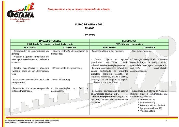 Compromisso com o desenvolvimento da cidade.                                                                      FLUXO DE...