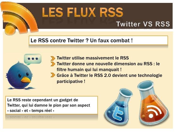 Les flux RSS<br />Question à AS de Clairbois, community manager<br />
