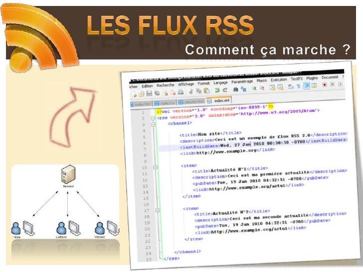 Les flux RSS<br />Comment ça marche ?<br />
