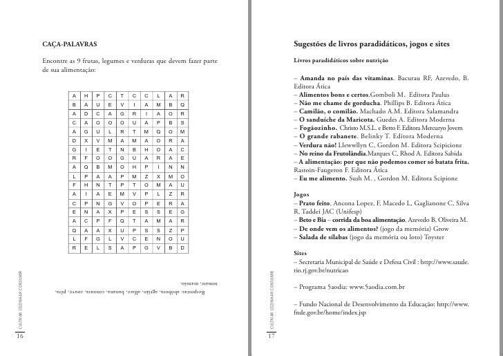 Referências bibliográficas                              –Programa Fome Zero: http://www.fomezero.gov.br/publicações       ...