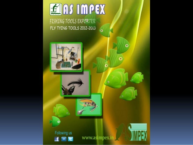 Fly tying tools 2013