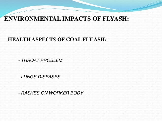 Fly Ash As A Wood Substitute