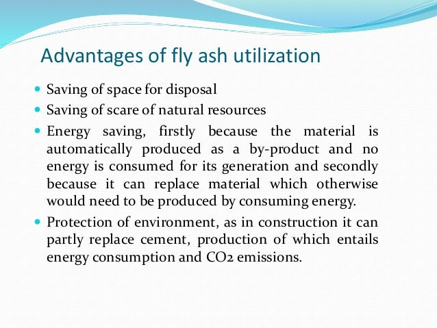 Flyash Disposal And Utilization