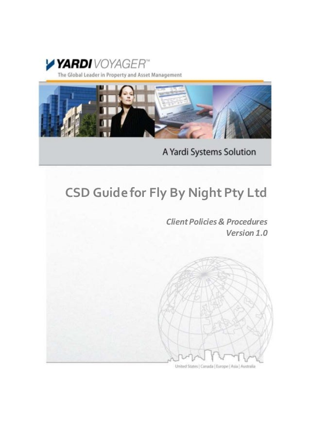 Fly By Night CSD Guide