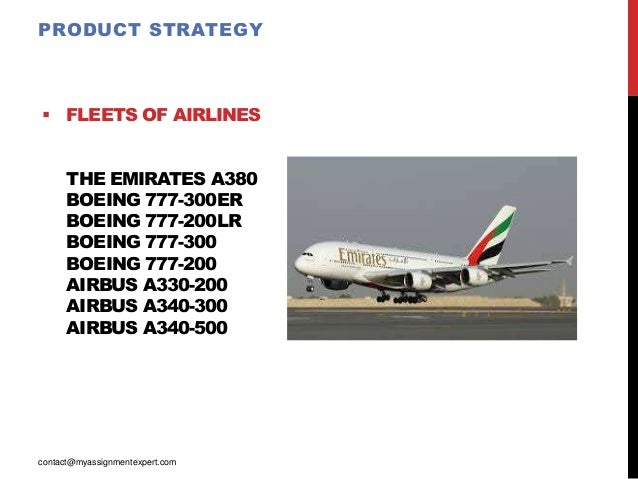 emirates airline marketing mix Marketing strategy of etihad airways the marketing mix is the specific mix etihad airways direct competitors are emirates airlines and fly dubai.