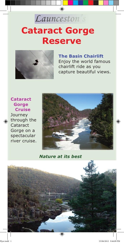Launceston's                Cataract Gorge                    Reserve                                   The Basin Chairlif...