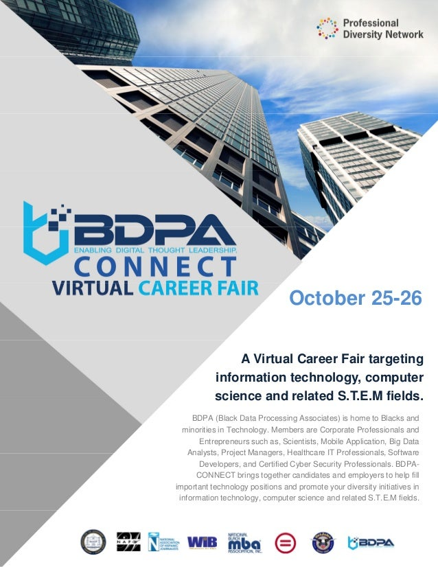 October 25 26 BDPA (Black Data Processing Associates) Is Home To Blacks And  ...