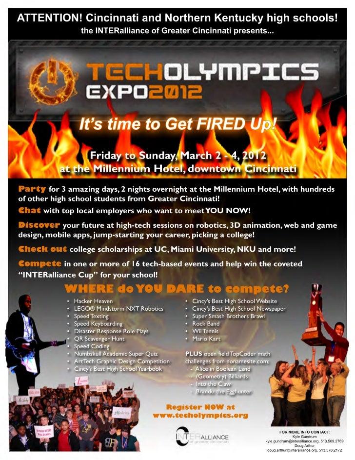 TechOlympics Expo 2012 (Cincinnati)