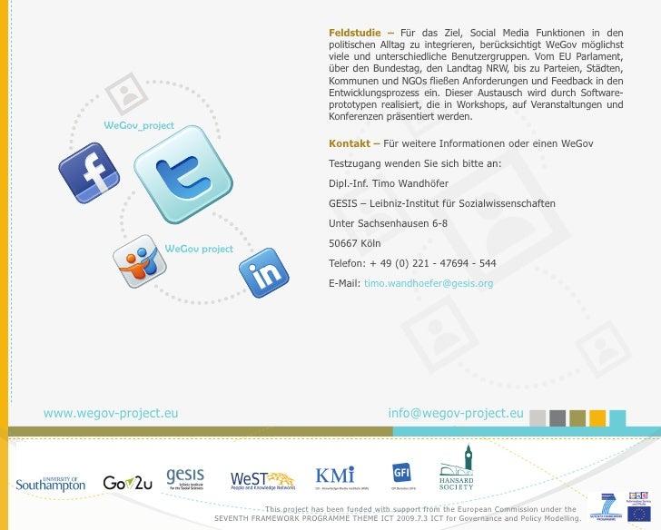 Flyer WeGov Projekt Slide 2