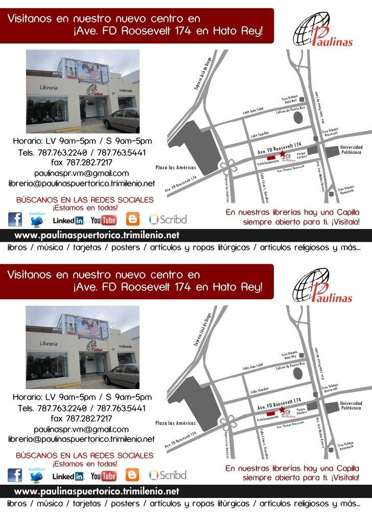 Visítanos en nuestro nuevo centro en             ¡Ave. FD Roosevelt 174 en Hato Rey!                                      ...