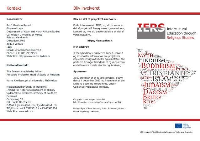 With the support of the Culture Programme of the European Commission  Bliv en del af projektets netværk  Er du interessere...