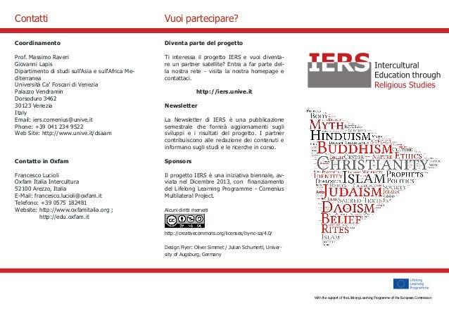With the support of the Culture Programme of the European Commission  Diventa parte del progetto  Ti interessa il progetto...