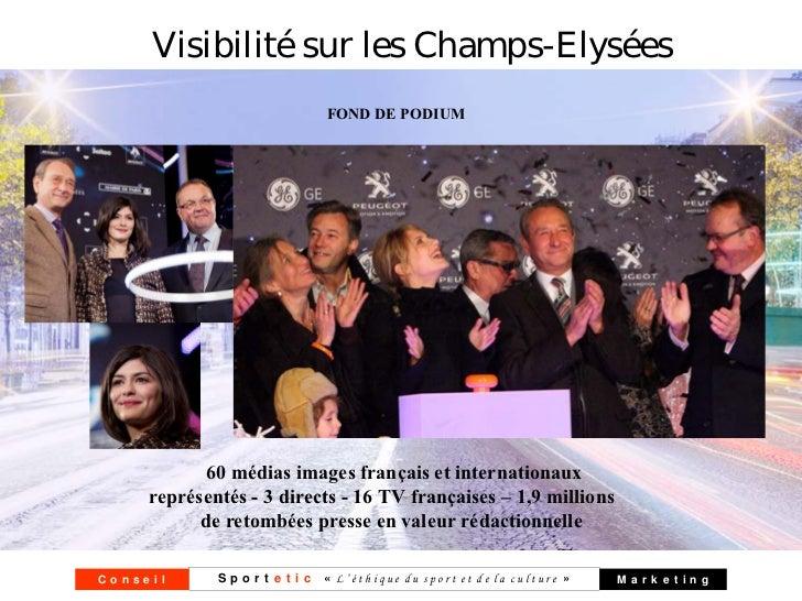 Visibilité sur les Champs-Elysées                              FOND DE PODIUM            60 médias images français et inte...
