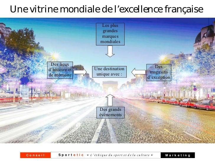 Une vitrine mondiale de l'excellence française                                           Les plus                         ...