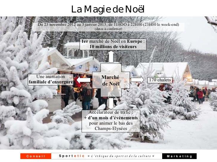 La Magie de Noël    Du 23 novembre 2012 au 3 janvier 2013, de 11HOO à 22H00 (23H00 le week-end)                           ...