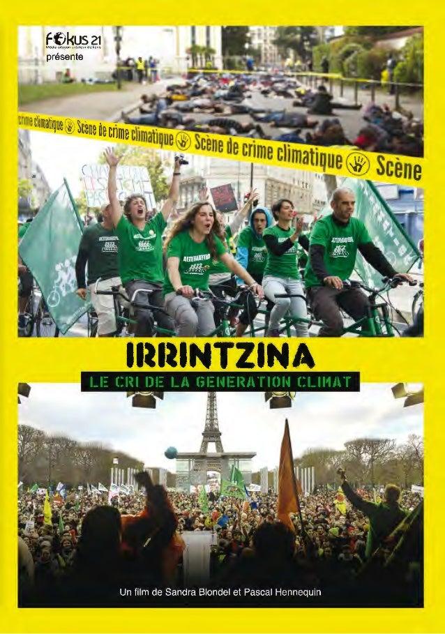 Flyer Irrintzina - Présentation