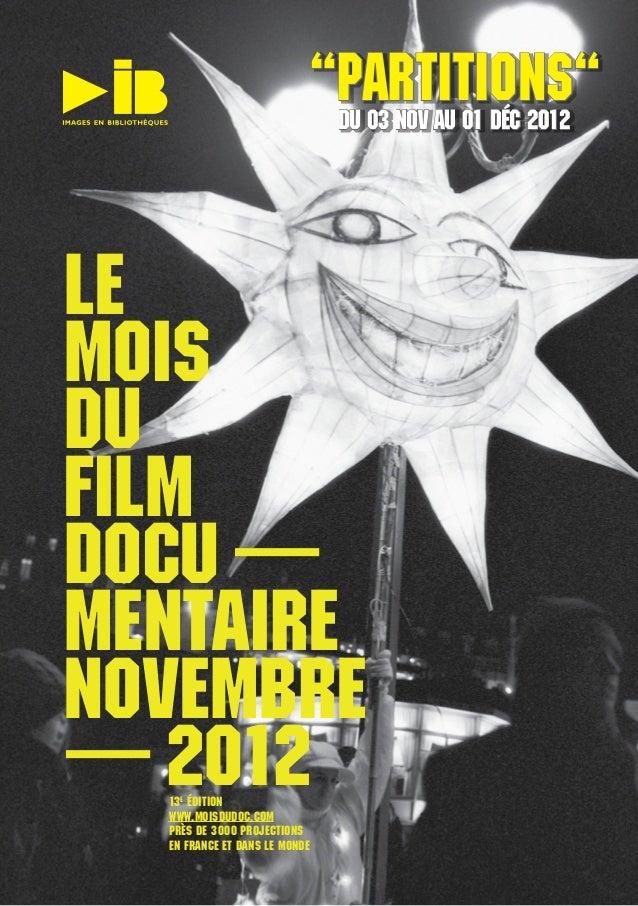 """""""PARTITIONS""""                                Du 03 Nov au 01 Déc 2012                                Du 03 Nov au 01 Déc 20..."""