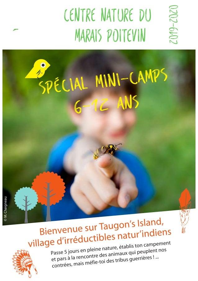 ©M.Chaigneau SPÉCIAL mini-camps Centre nature du marais poitevin 2019-2020