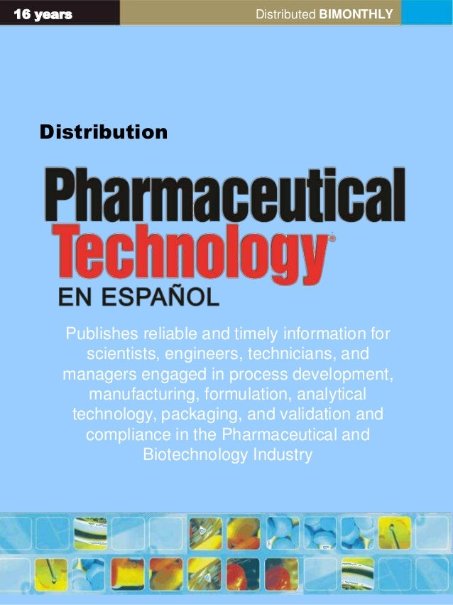 16 years Distributed BIMONTHLY Distribution Publishes reliable and timely information for scientists, engineers, technicia...
