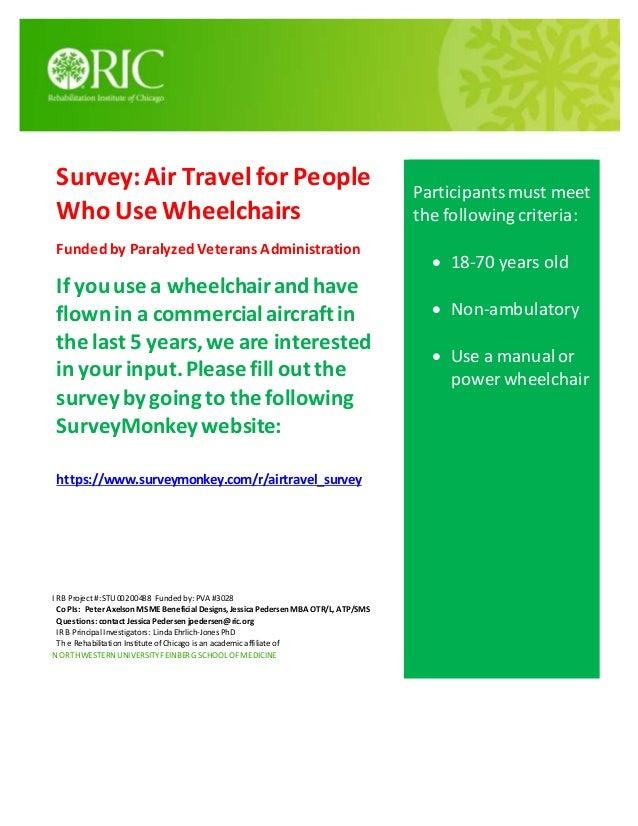 Flyer survey RIC