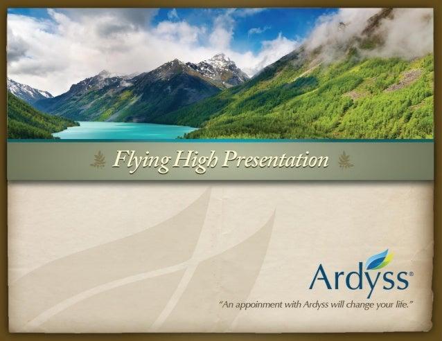 Ardyss Flying  High Presentation