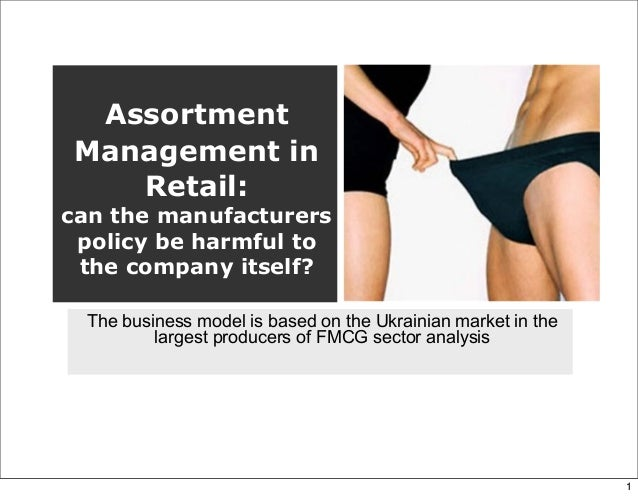 AssortmentManagement inRetail:can the manufacturerspolicy be harmful tothe company itself?The business model is based on t...