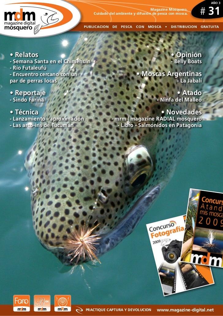 AÑO 3                                                                    Magazine Mosquero.                               ...